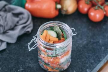 Anleitung Einlegen: Gemüse im Glas