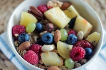 Ernährungskonzept Clean Eating