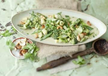 Gemüse im Alltag: Grünes Gemüsecurry