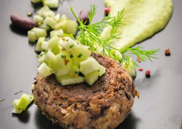 Heimische Superfoods Berliner Boulette