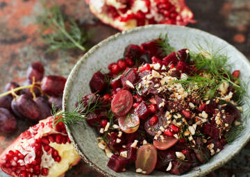 hey SevenCooks: Rote Bete Haselnuss Salat