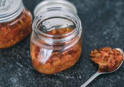 Veganes Rezept: Eingekochte Tomatensoße