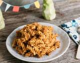 Vegetarisches Rezept: Pasta mit Frischkäse-Brokkoli-Bolognese_1