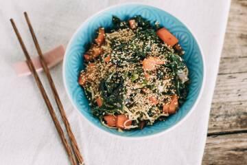 Wochenplan Vitamin C: gruenkohl asiatisch