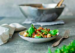 Vegetarisches Rezept: Bohnensalat mit Mozzarella 1